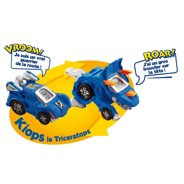 Switch and Go Dino Keops  Le Triceratops