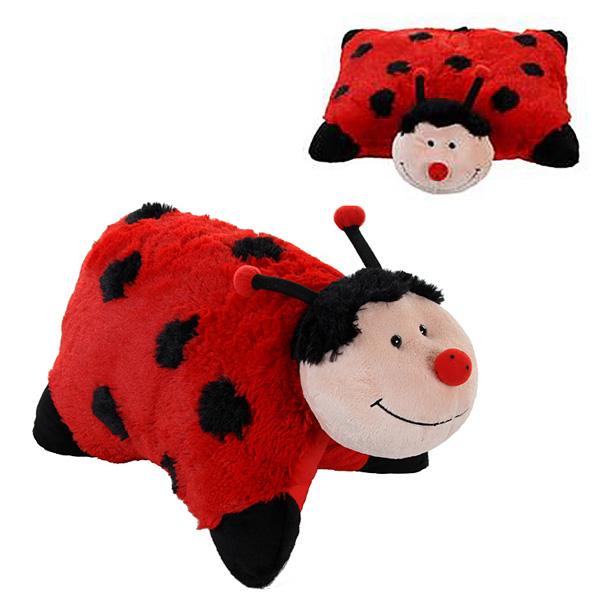 Pillow Pets Coccinelle De Magnifiques Coussins En Forme D Animaux Pictures
