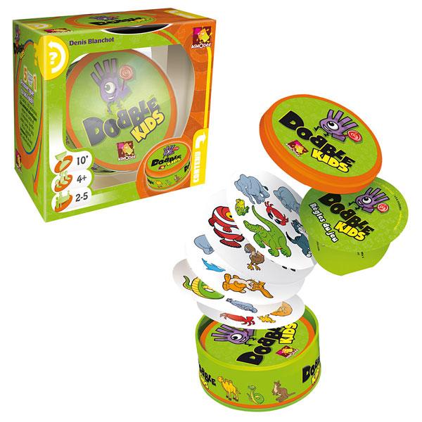 Dobble Kids Asmodee King Jouet Jeux De R 233 Flexion