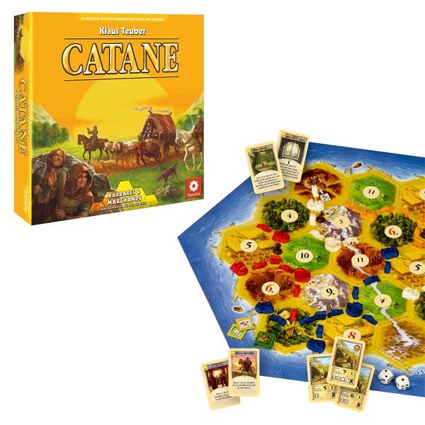 Catane barbares et marchands extension Asmodee : King Jouet, Jeux de stratégie
