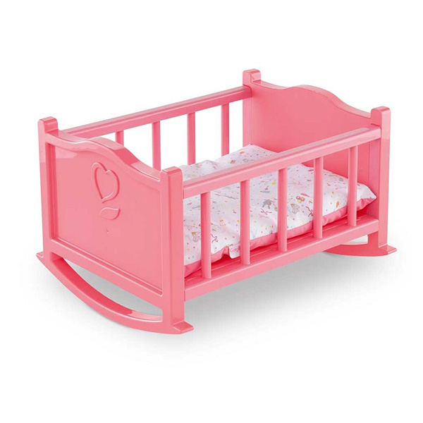 lit bascule pour poupon 30 cm corolle corolle king. Black Bedroom Furniture Sets. Home Design Ideas