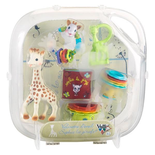 Valisette d 39 veil sophie la girafe vulli king jouet - Table d eveil sophie la girafe ...