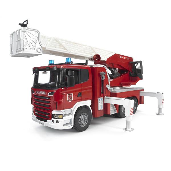camion nacelle pompier scania bruder king jouet. Black Bedroom Furniture Sets. Home Design Ideas
