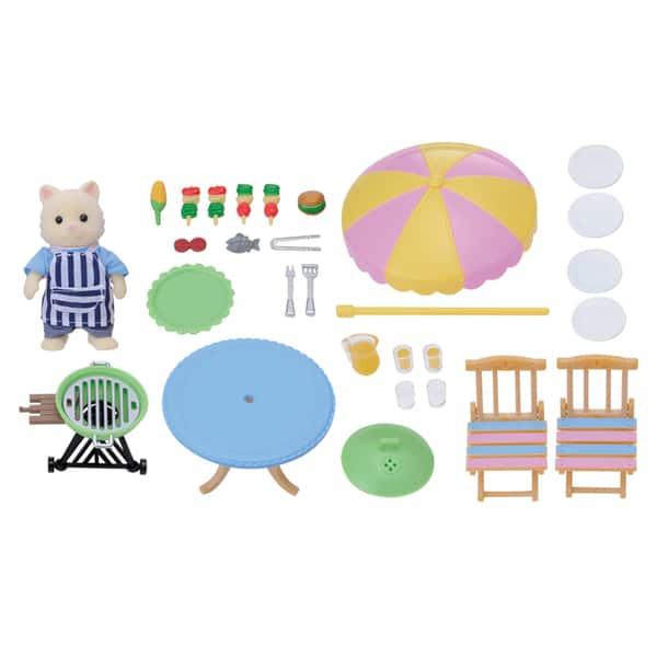 Sylvanian-Set Barbecue de Jardin Sylvanian Families : King Jouet ...