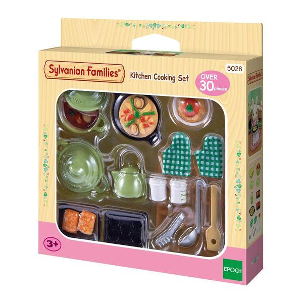 sylvanian le set ustensiles de cuisine sylvanian families king jouet h ros univers. Black Bedroom Furniture Sets. Home Design Ideas