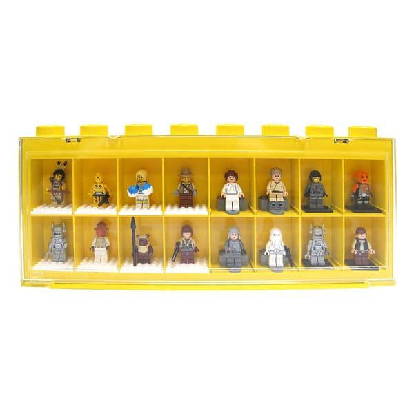 lego vitrine 16 cases de lego. Black Bedroom Furniture Sets. Home Design Ideas