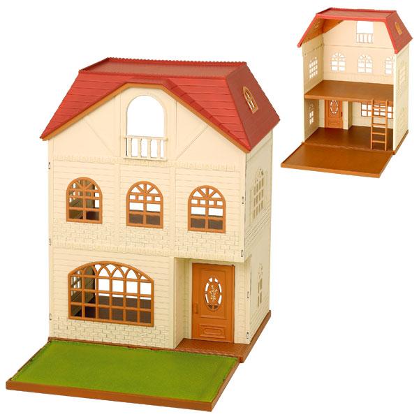Maison aux 3 histoires sylvanian sylvanian families king jouet h ros univers sylvanian - Voir ma maison en direct ...
