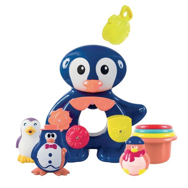 Coffret bain pingouin