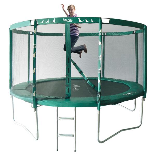 trampoline king jouet avec filet. Black Bedroom Furniture Sets. Home Design Ideas