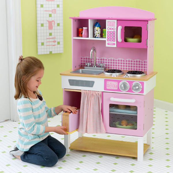 Cuisine familiale kidkraft king jouet cuisine et dinette kidkraft jeux d - Cuisine kidkraft avis ...