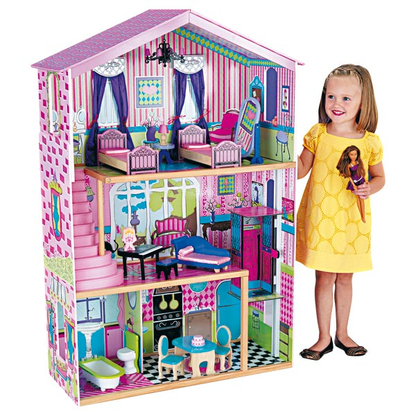 Maison barbie king jouet - Barbie et sa maison de reve ...
