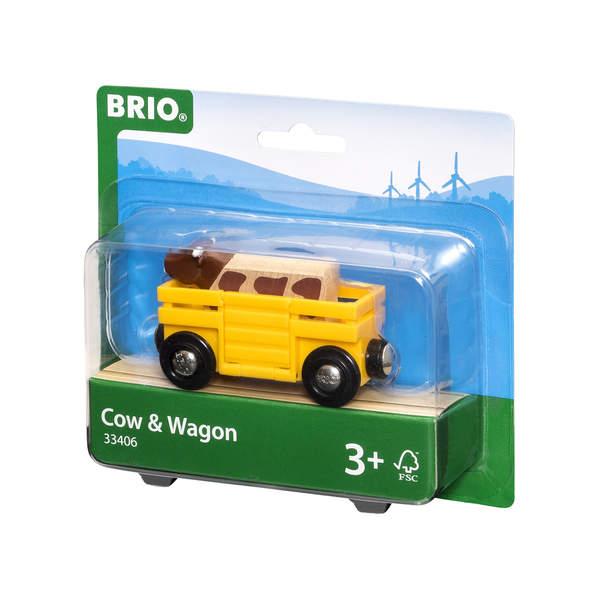 Brio 33406-Wagon transport de bétail