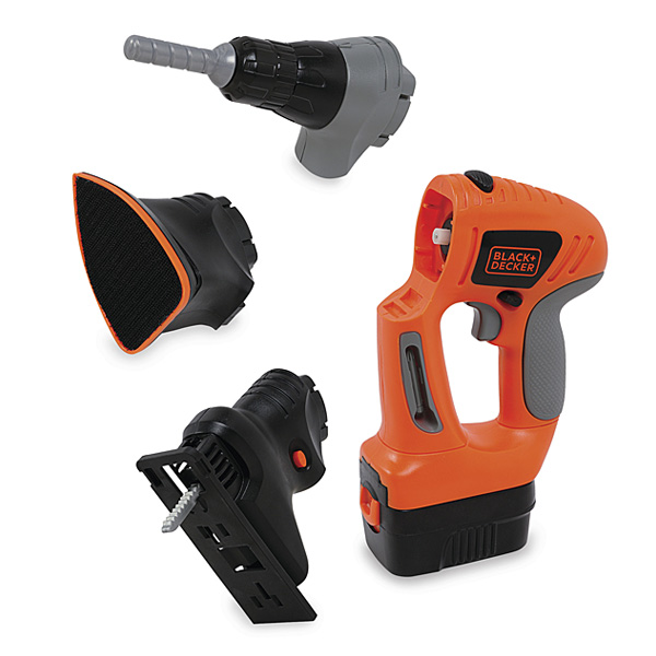 Miniature evo lectronique black decker smoby king for Outils black et decker