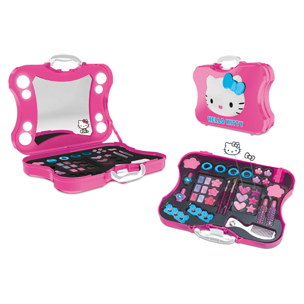 malette maquillage lumineuse hello kitty. Black Bedroom Furniture Sets. Home Design Ideas