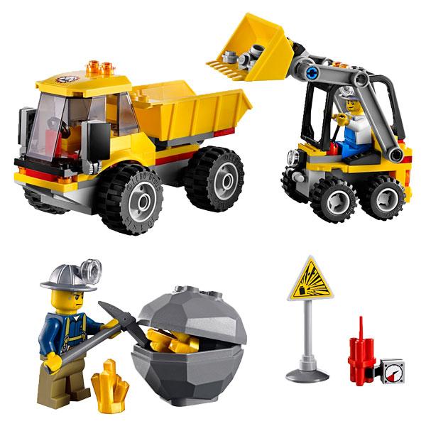 Lego 4201 City : Le Camion benne Mytoys  perenoel