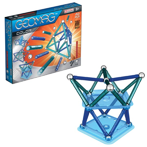 geomag color 40 pi ces geomag king jouet meccano. Black Bedroom Furniture Sets. Home Design Ideas