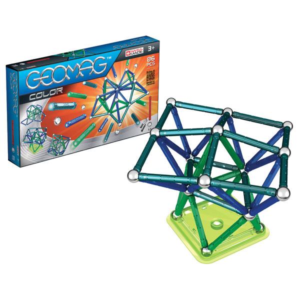 geo color 86 pi ces geomag king jouet meccano engrenage autres geomag jeux de construction. Black Bedroom Furniture Sets. Home Design Ideas