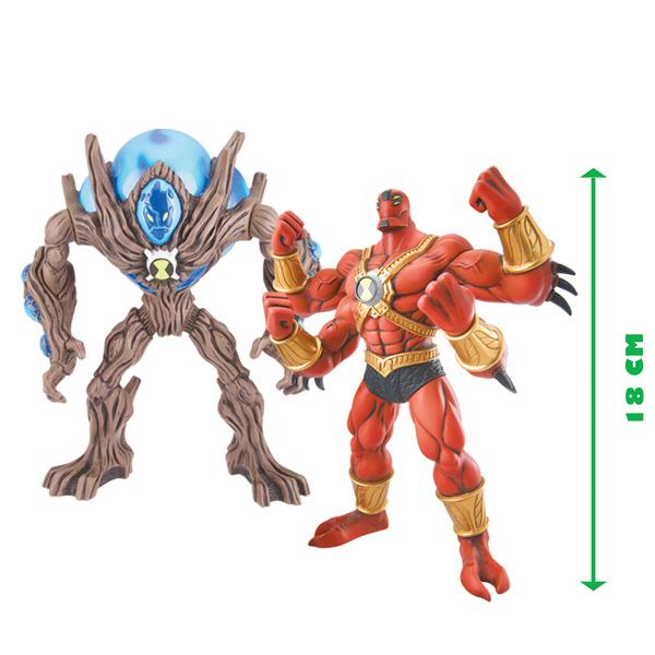 Figurines et accessoires inspir s du personnage d animation ben 10 - Ben 10 tous les aliens ...