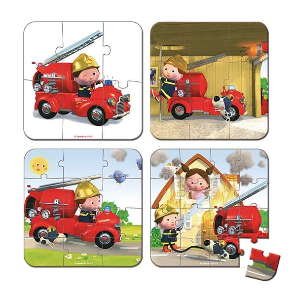 Puzzle camion de Léon évolutif