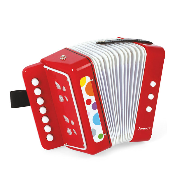 Accordeon confetti