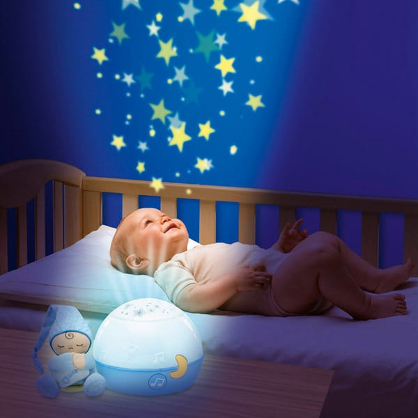 Ma Lampe Magic Projection Bleue