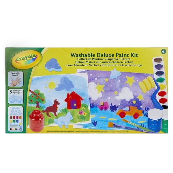 Mallette de peinture crayola king jouet dessin et - Jeu de peinture en ligne ...