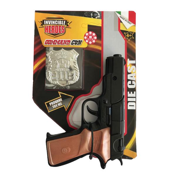 Pistolet avec plaque