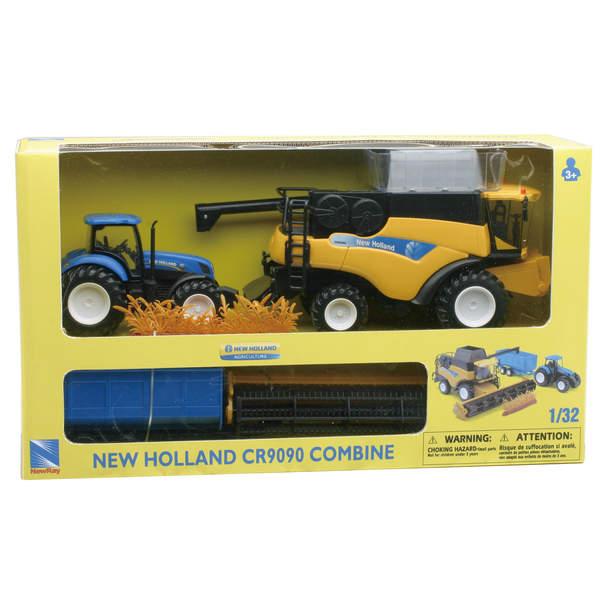 Coffret Et New Holland Moissonneuse Tracteur VSqzpGUM