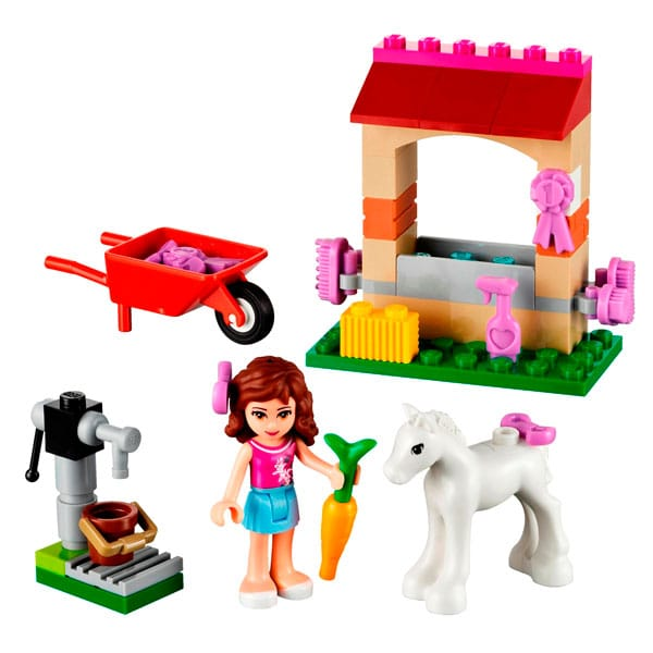 lego 41003 olivia et son b b poulain pas cher lego. Black Bedroom Furniture Sets. Home Design Ideas