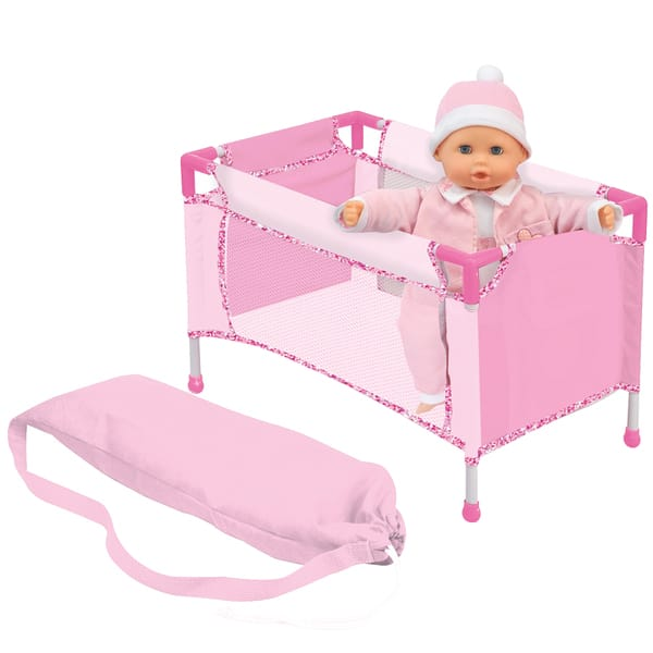 lit de voyage love bebe king jouet accessoires de poup es love bebe poup es peluches. Black Bedroom Furniture Sets. Home Design Ideas