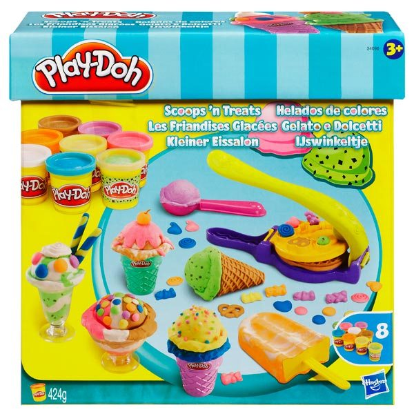 play doh les sorbets hasbro king jouet pate modeler modelage et gravure hasbro jeux cr atifs. Black Bedroom Furniture Sets. Home Design Ideas