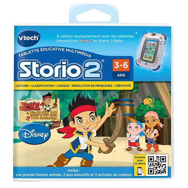 Jeu Storio 2 Jake et les Pirates VTech : King Jouet, Jeux vidéos ...