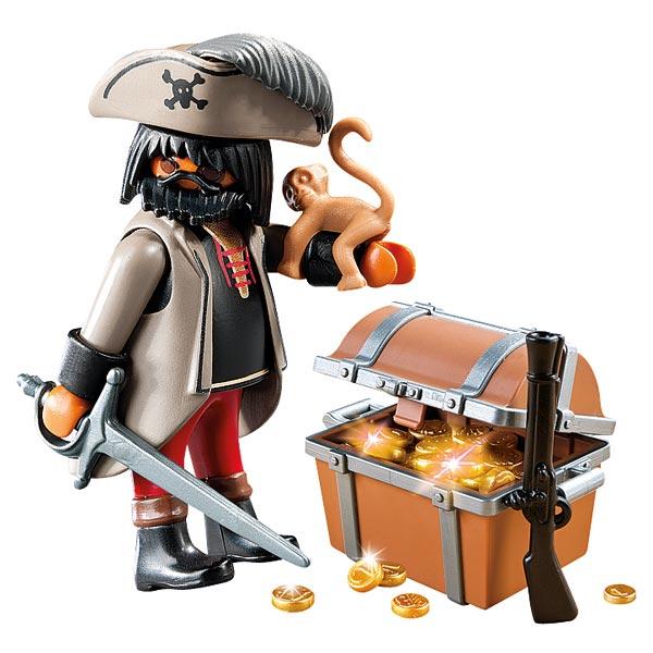 4767 pirate avec coffre au tr sor playmobil king jouet - Coffre a jouet pas cher ikea ...