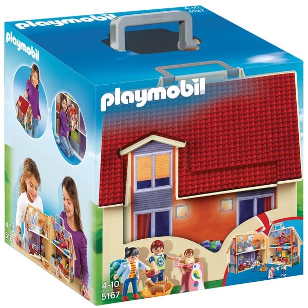 playmobil la maison de ville chambre de b b cuisine salon chemin e jouets playmobil. Black Bedroom Furniture Sets. Home Design Ideas