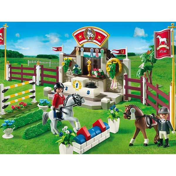 playmobil le centre questre ranch poney et chevaux. Black Bedroom Furniture Sets. Home Design Ideas