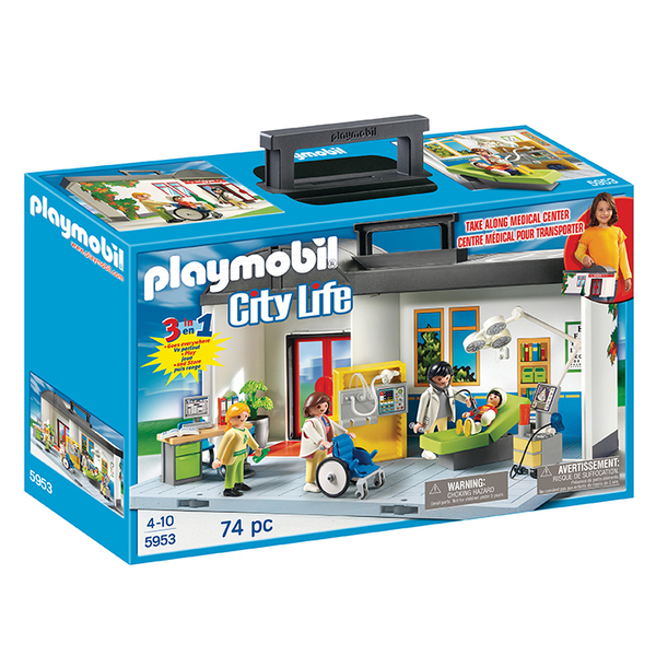 5953 - Playmobil City Life - Hôpital transportable