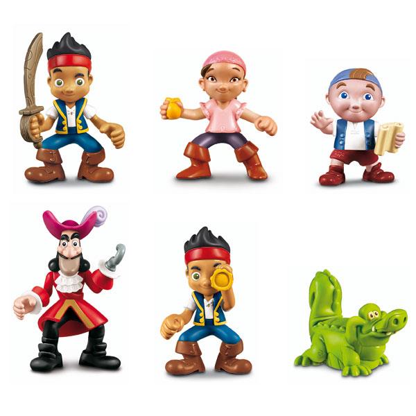 personnages de jack et les pirates