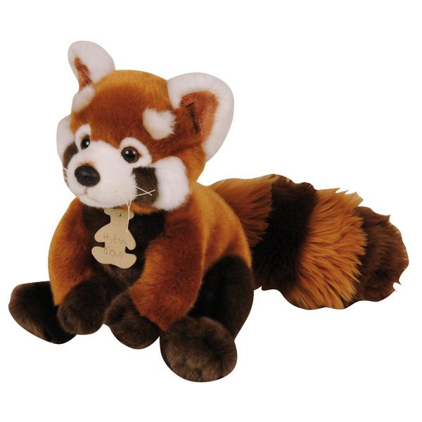 Panda Roux Histoire D Ours King Jouet Peluches Histoire