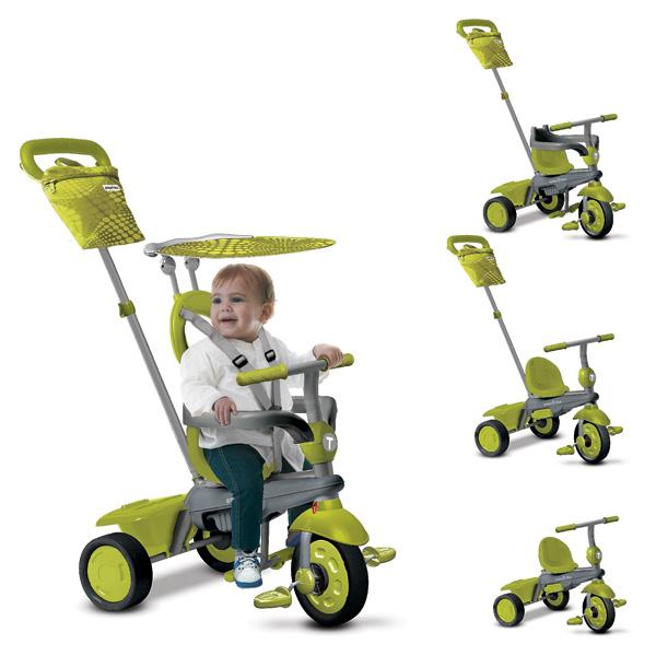 smart trike vanilla vert smart trike king jouet v los. Black Bedroom Furniture Sets. Home Design Ideas