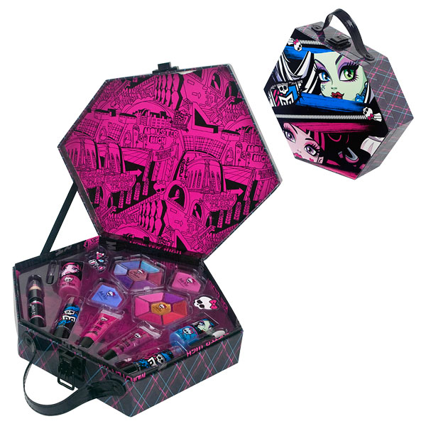 Latest monster high valise maquillage totally freaky with deco chambre monster high - Deco chambre monster high ...