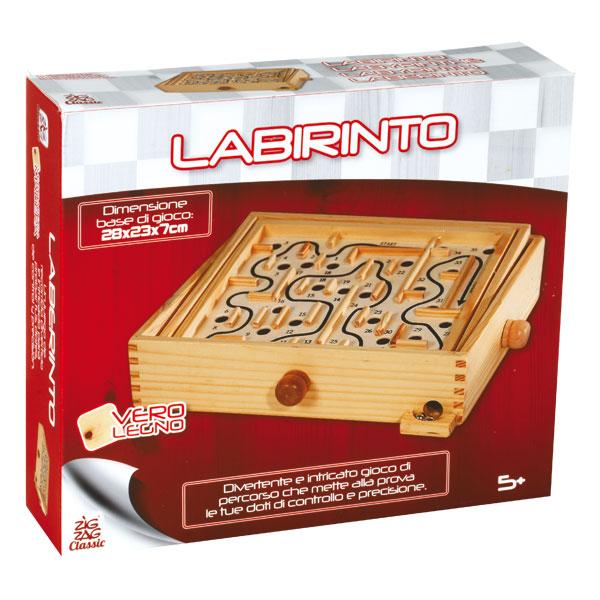 labyrinthe en bois zig zag classic king jouet jeux d. Black Bedroom Furniture Sets. Home Design Ideas