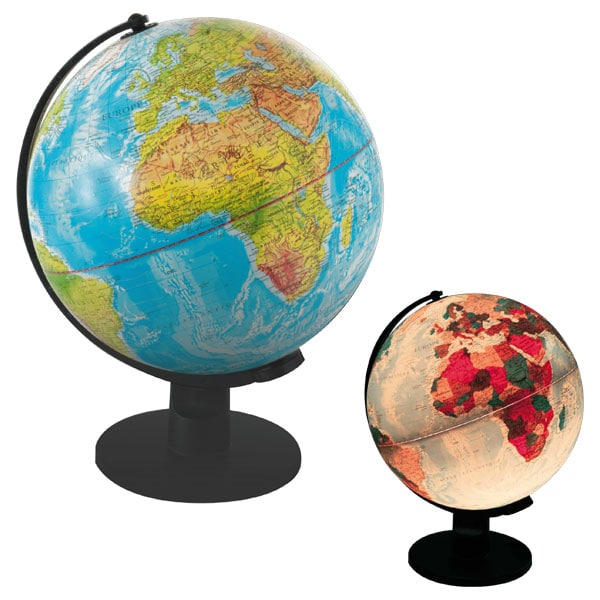 Globe Lumineux 30 Cm Microplanet King Jouet D 233 Couvrir