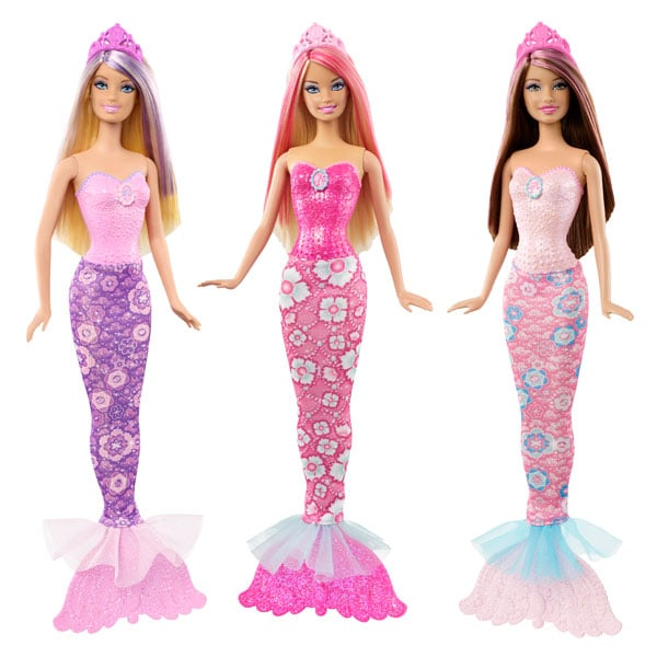 Barbie sir ne rose de mattel for Barbie chien piscine