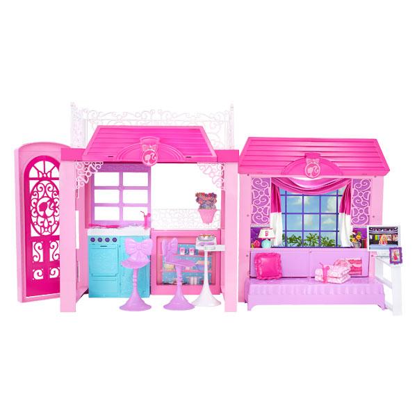 Barbie la maison de vacances mattel king jouet for Accessoires maison barbie
