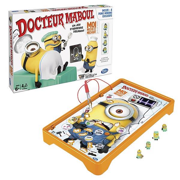 les minions docteur maboul hasbro king jouet jeux d. Black Bedroom Furniture Sets. Home Design Ideas