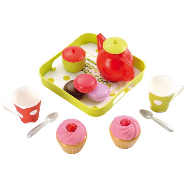 Plateau cupcake ecoiffier king jouet cuisine et dinette - Jeux de cuisine de cupcake ...