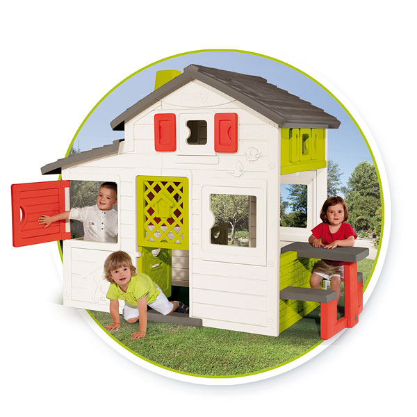 Smoby Maison friends house Smoby : King Jouet, Maisons ...