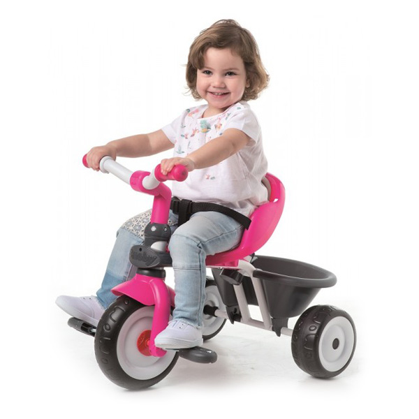 baby driver confort fille smoby king jouet v los. Black Bedroom Furniture Sets. Home Design Ideas