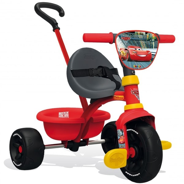 tricycle enfant evolutif be move cars 3 smoby king jouet. Black Bedroom Furniture Sets. Home Design Ideas