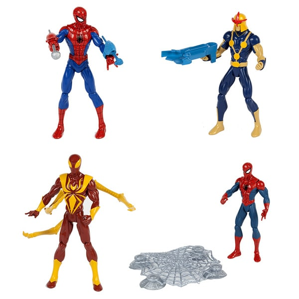 Spiderman Figurine de Combat 15 cm Assortiment de Hasbro